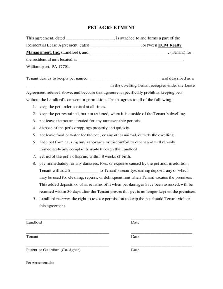 Commercial Lease Addendum Form