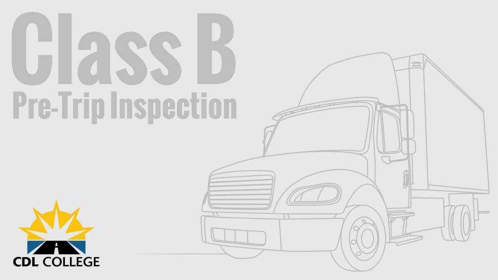 Commercial Truck Pre Trip Inspection Form