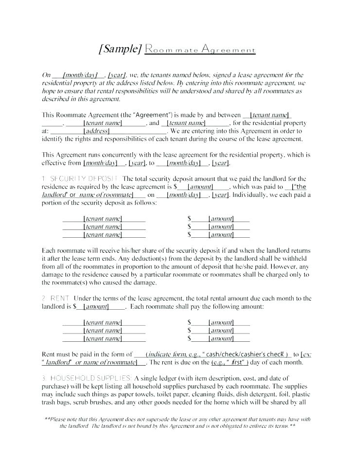 Condo Locker Rental Agreement Form