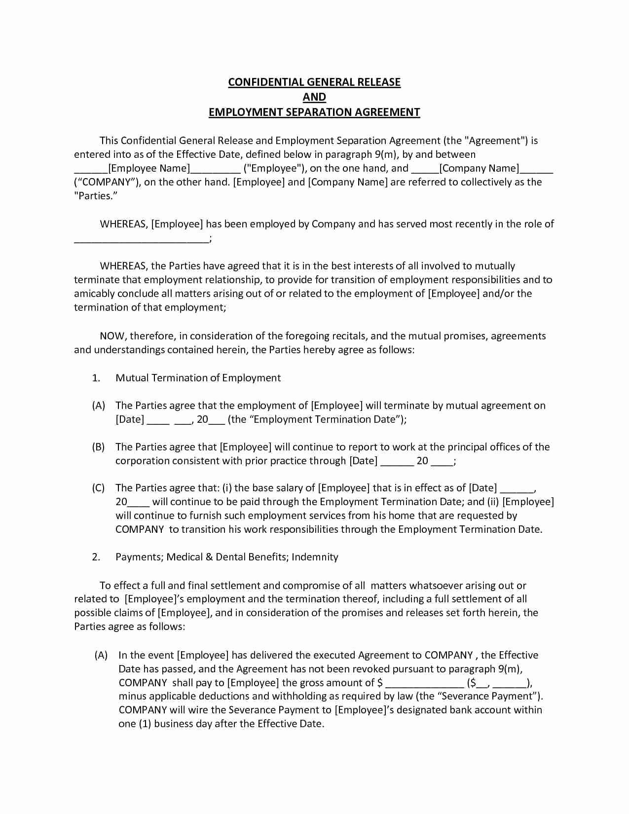Confidentiality Contract Template Free
