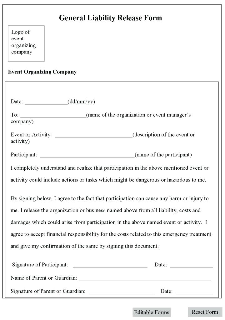 Confidentiality Release Form Template