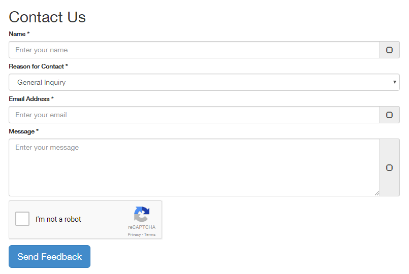 Contact Form With Recaptcha Plugin