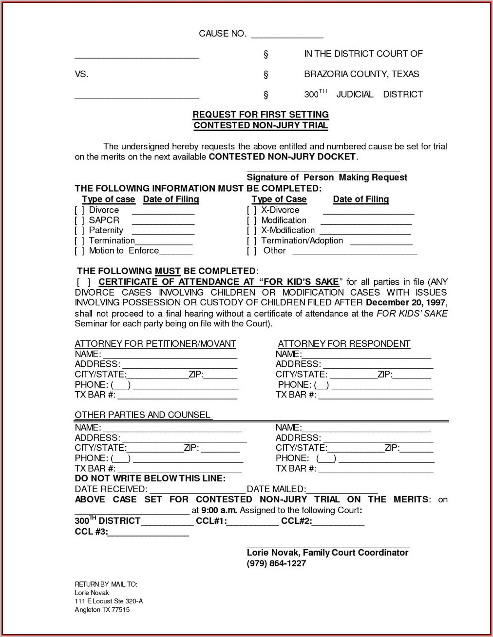 Contested Divorce Forms In Alabama