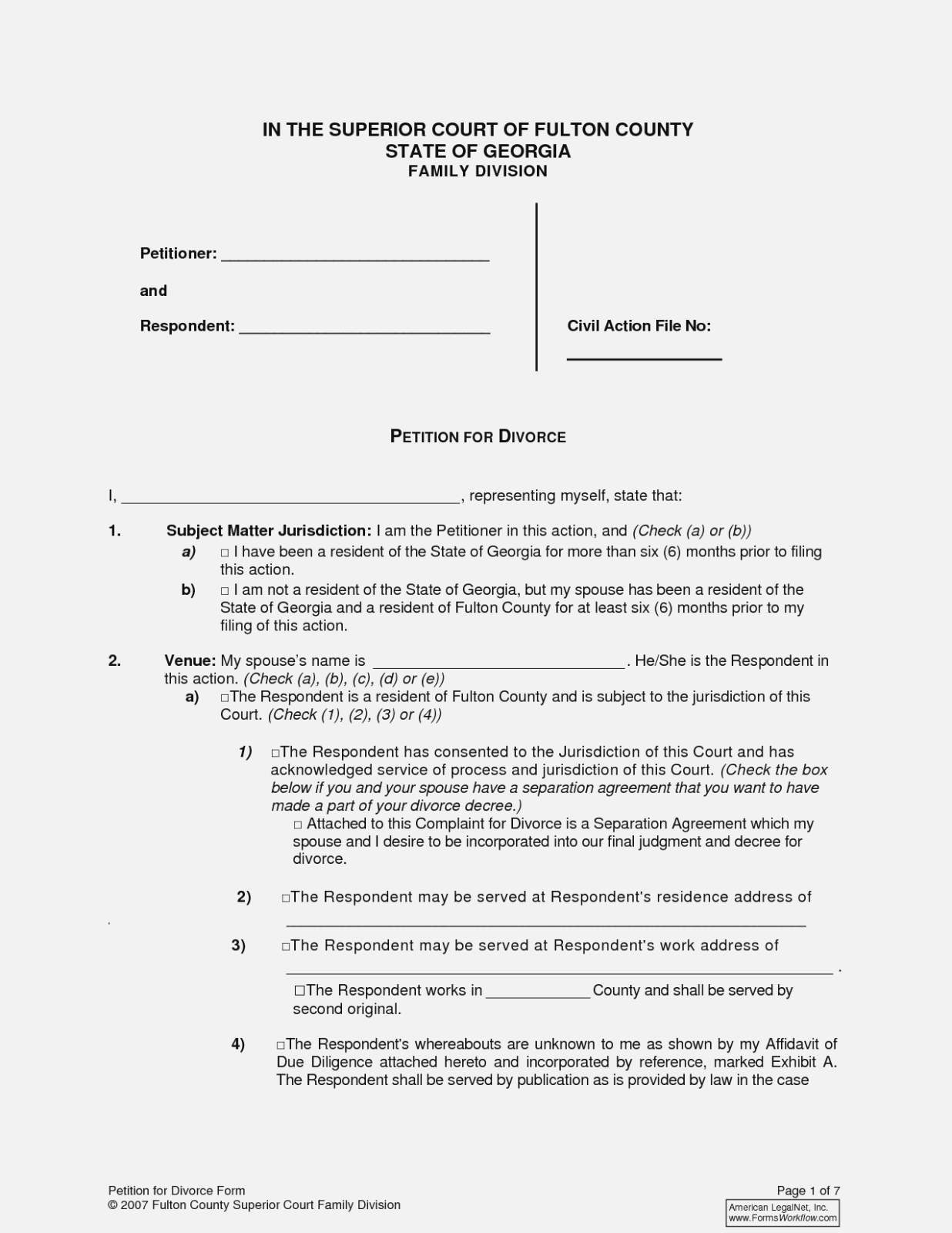Contested Divorce Forms In Oklahoma