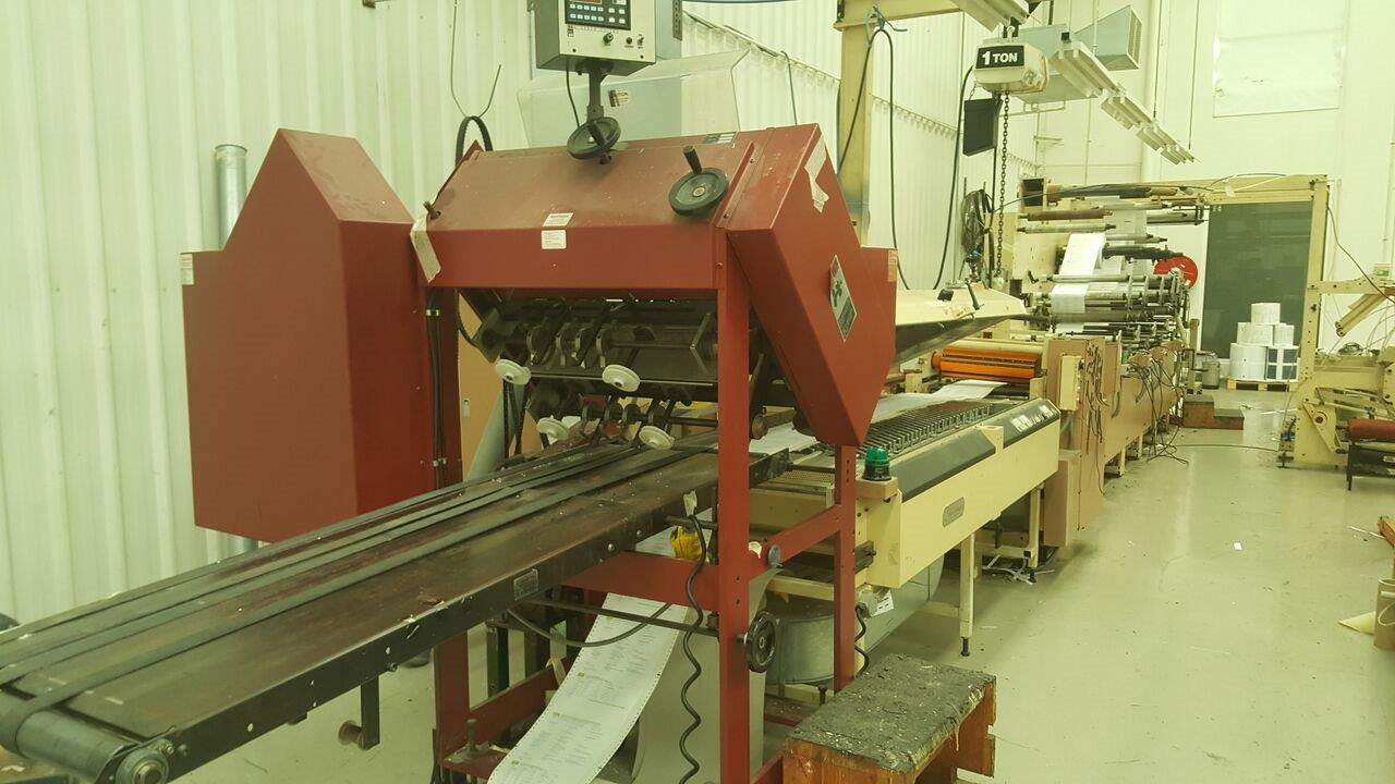 Continuous Form Printing Press