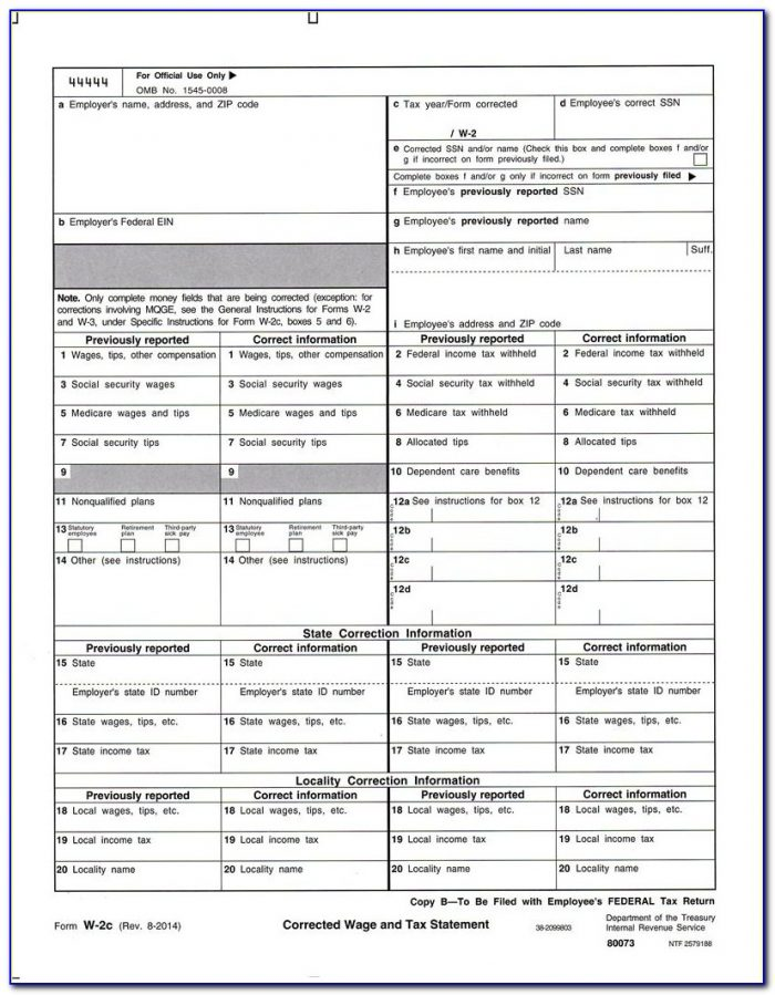 Copy Of Schedule A Form 1040