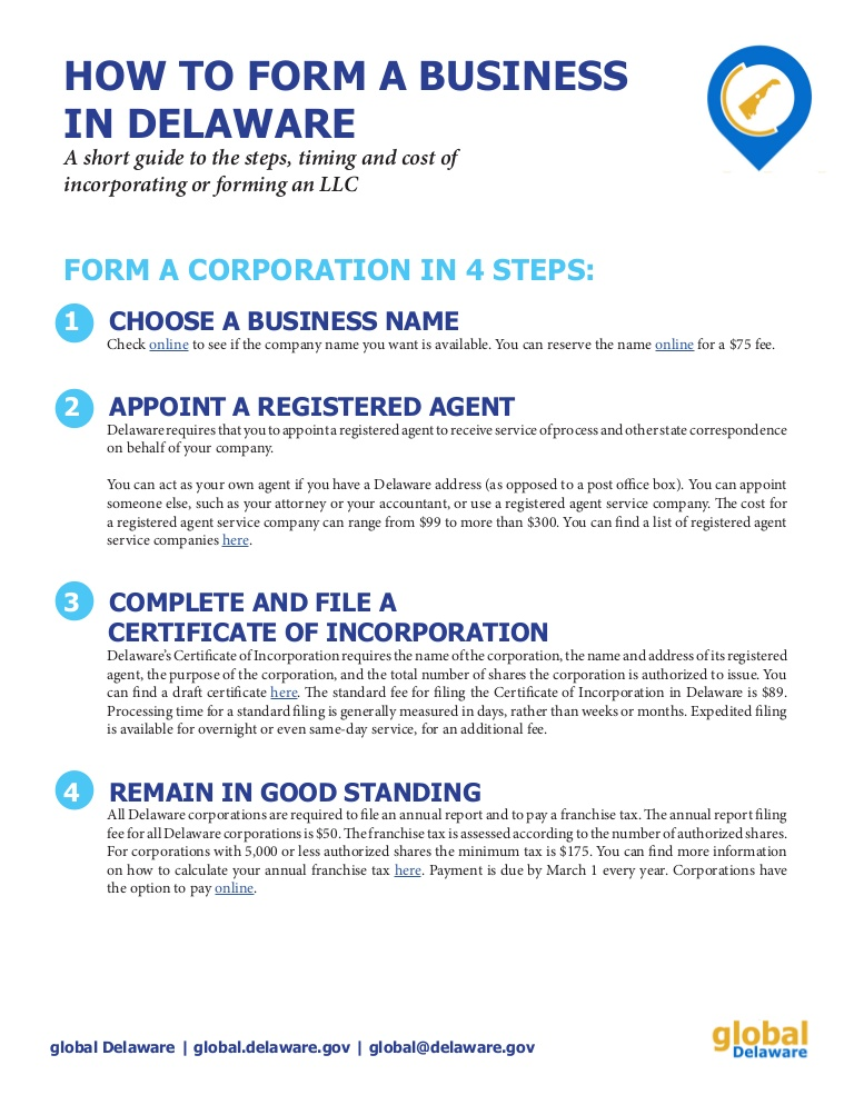 Cost Of Forming An Llc In Delaware