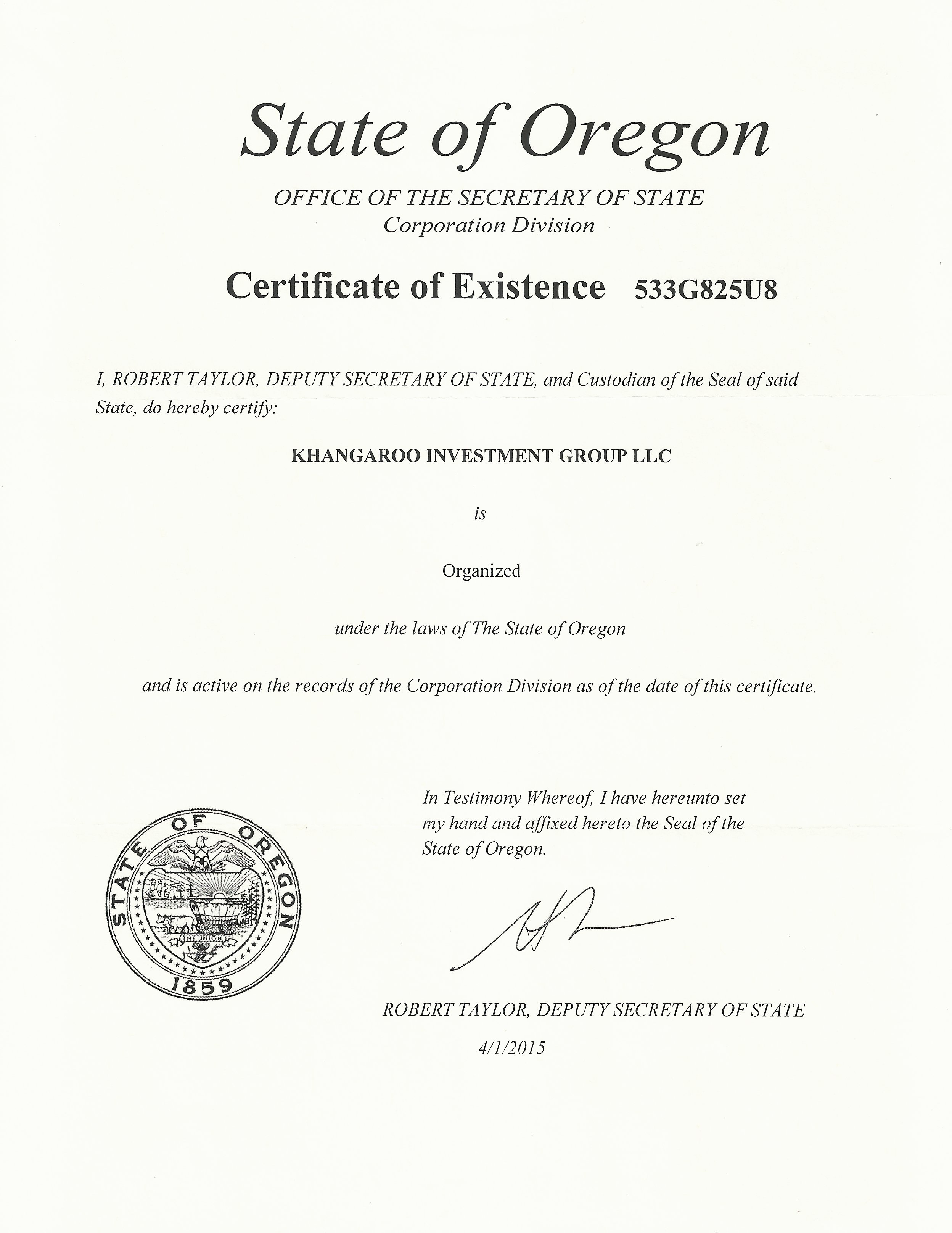 Cost Of Forming An Llc In Oregon
