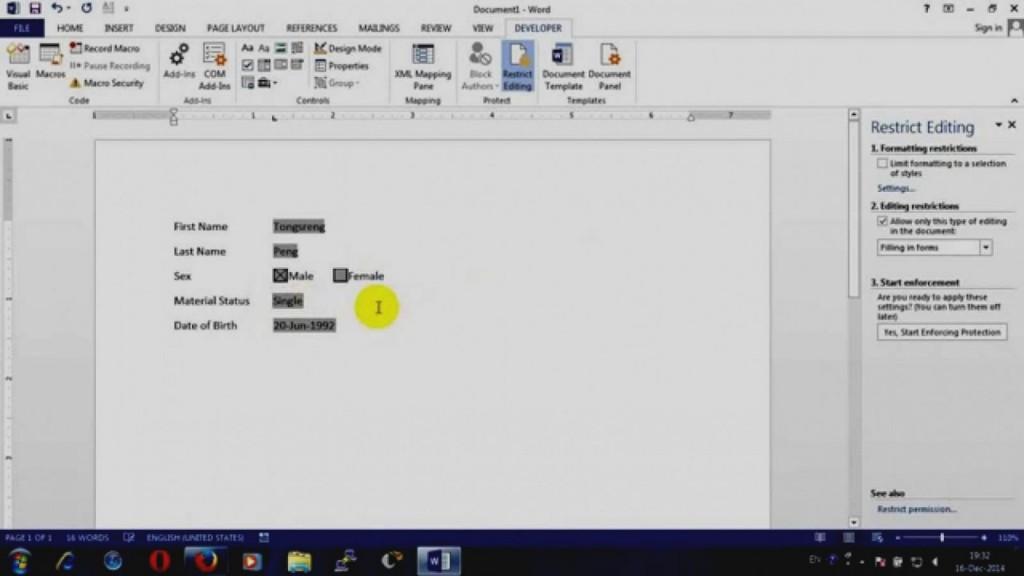 Create Fillable Pdf Form Mac