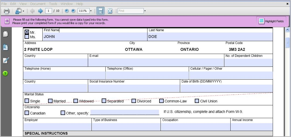 Create Form Fillable Pdf From Excel