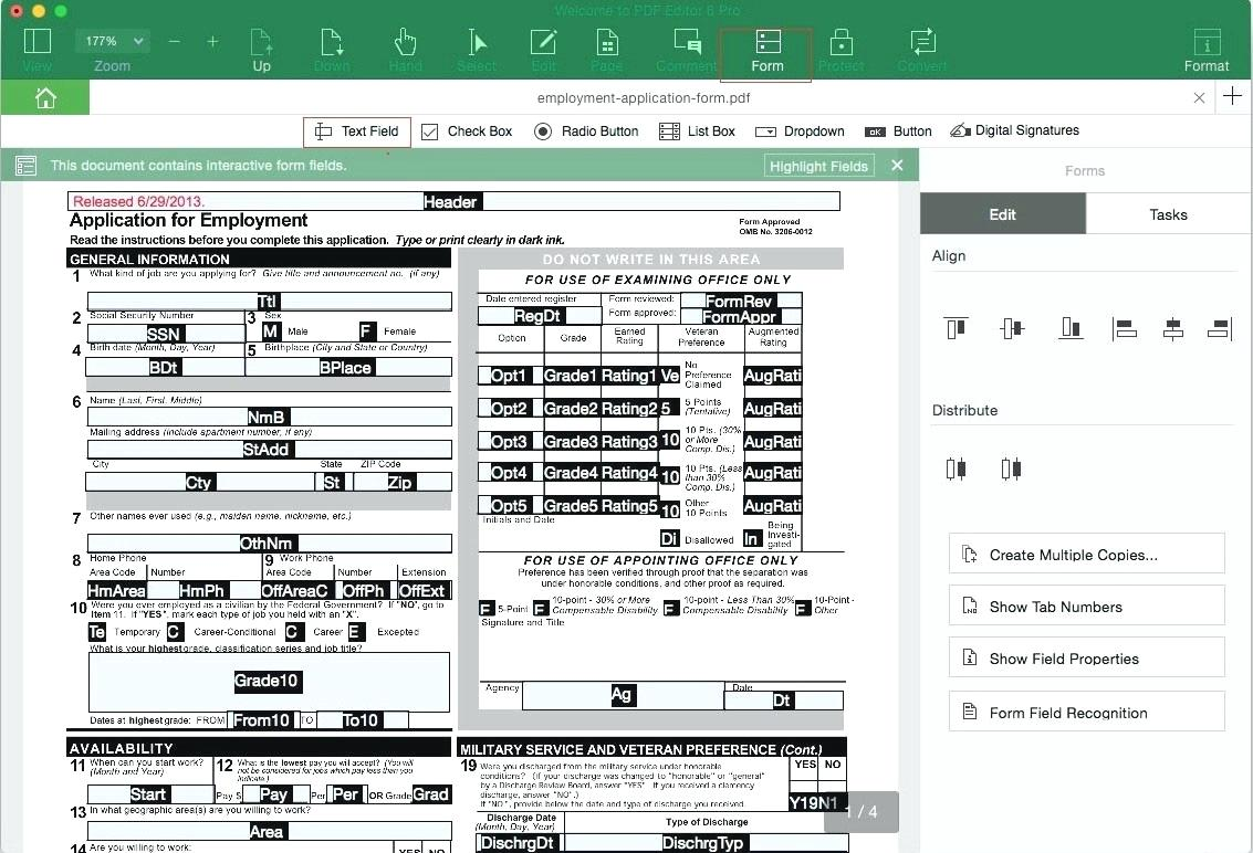 Creating A Fillable Form In Publisher