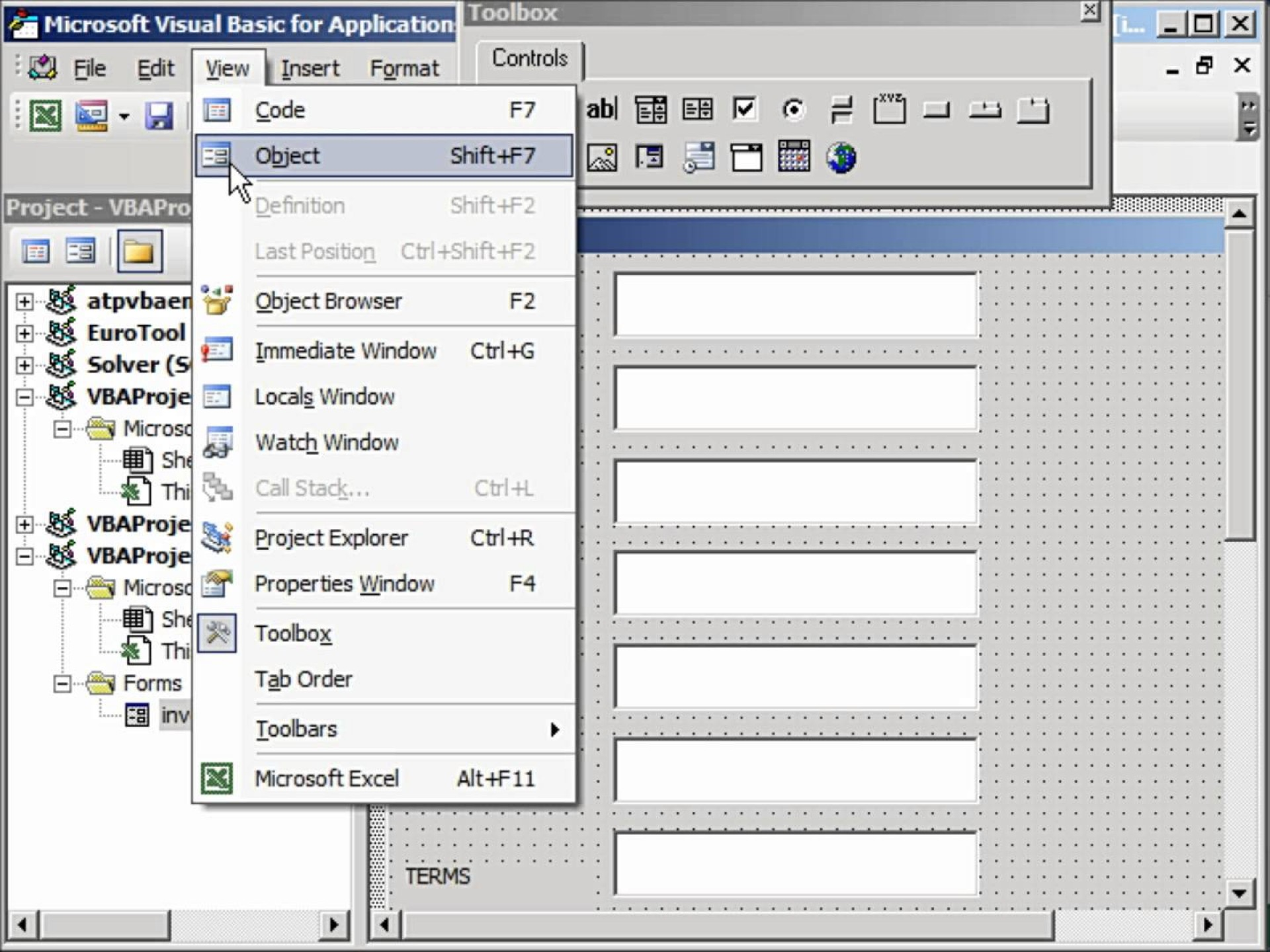Creating Fillable Forms In Excel 2010