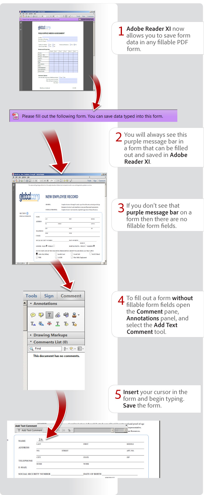 Creating Fillable Pdf Forms That Can Be Saved