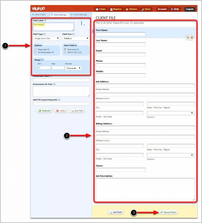 Creating Forms In Excel Pdf