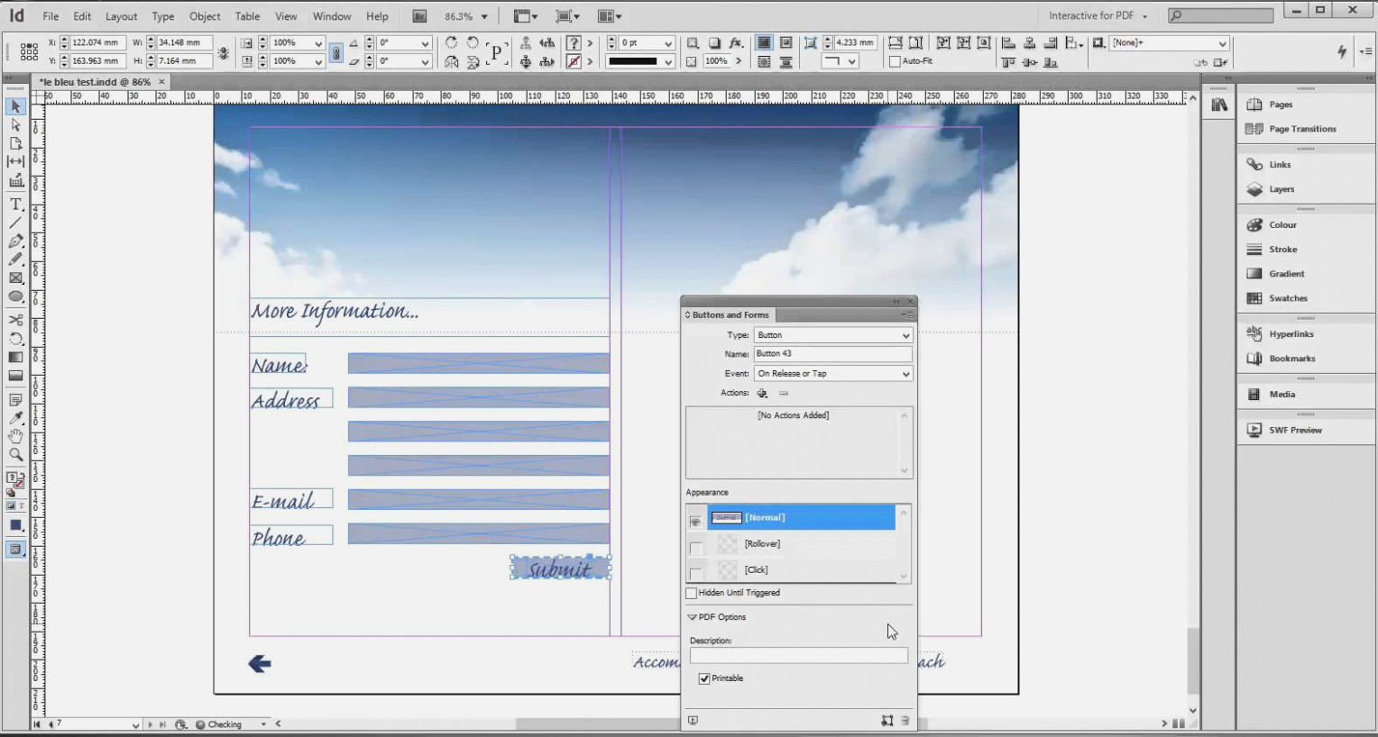Creating Interactive Forms In Pdf