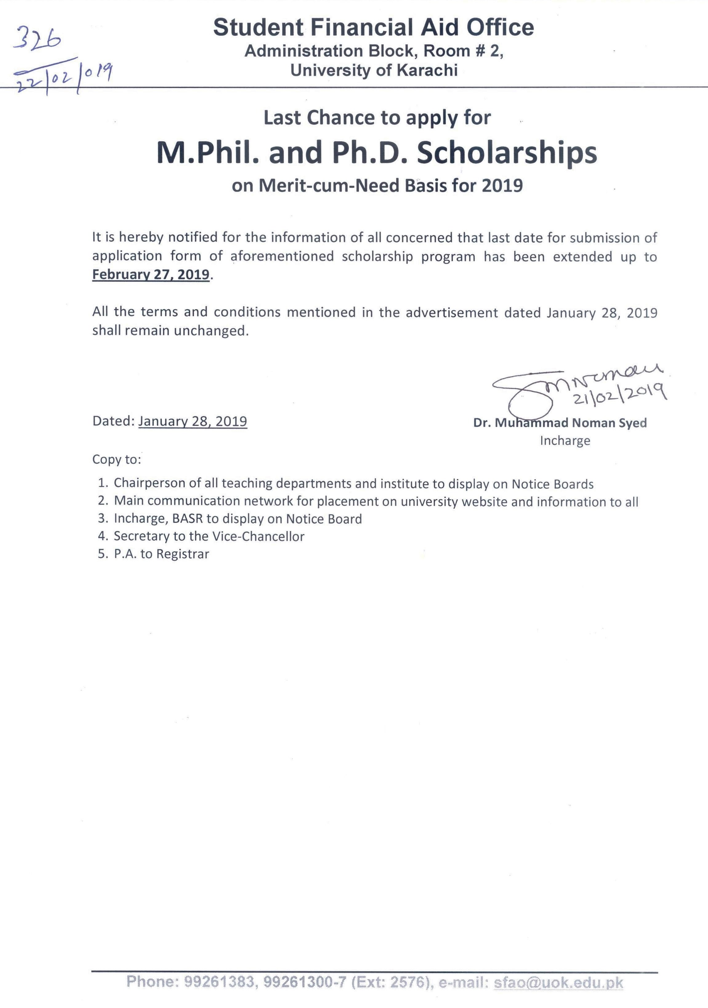 Csc Scholarship Online Application Form 2018