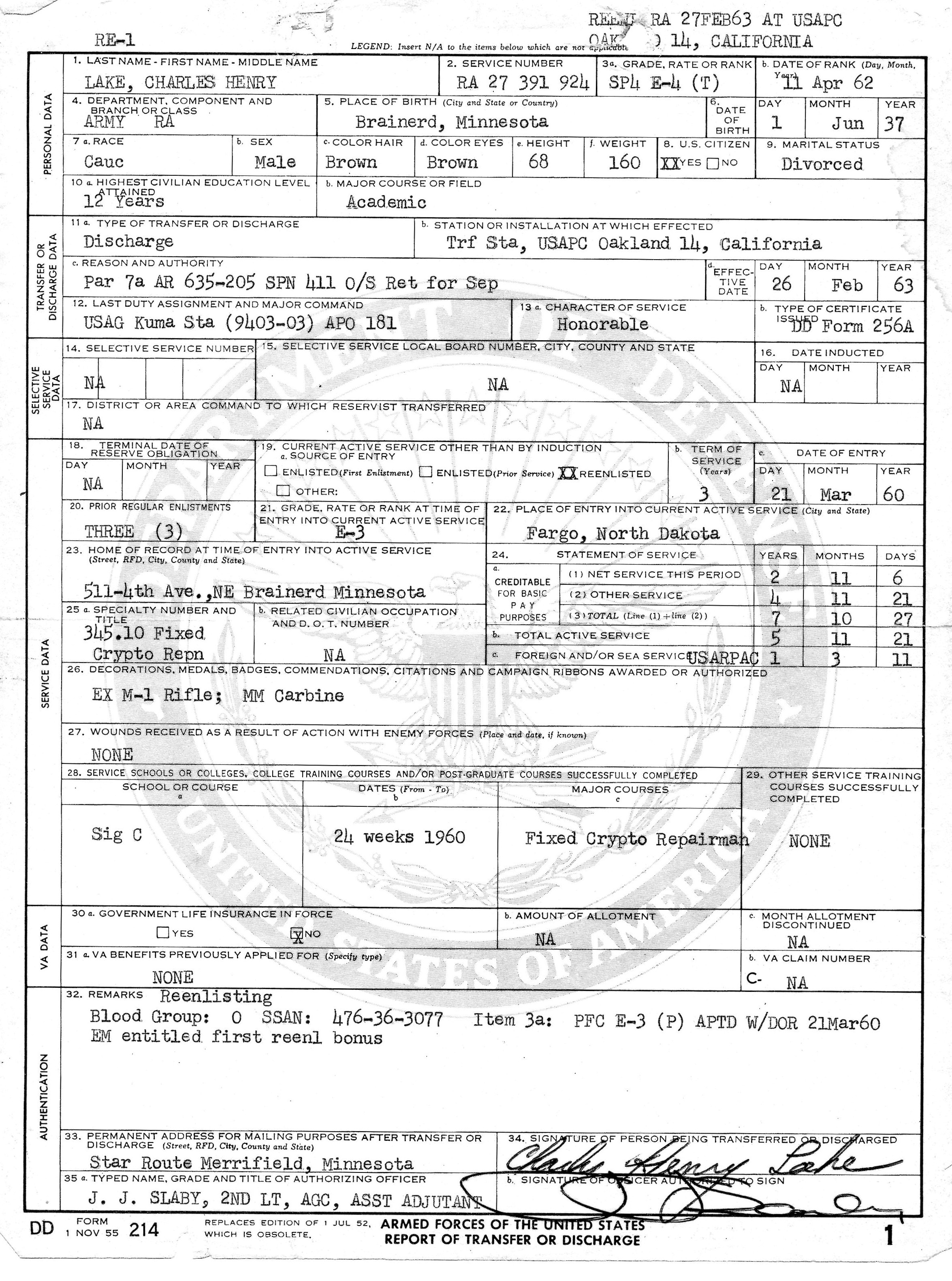 Dd214 Form Online