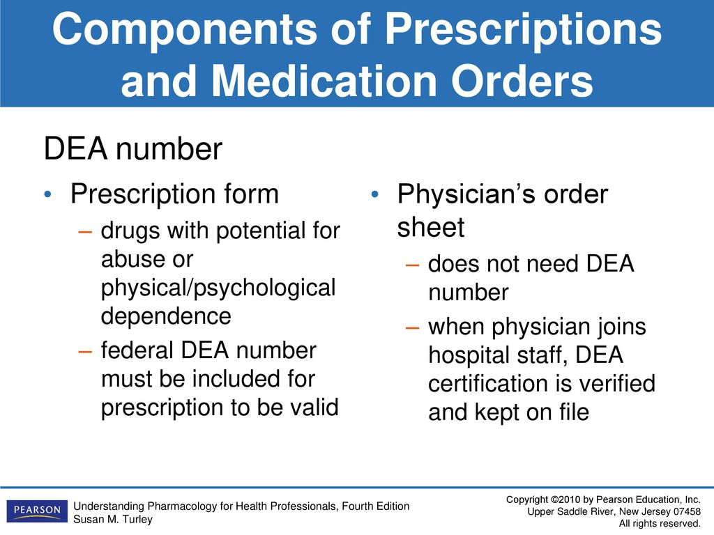 Dea Prescription Pad Order Form