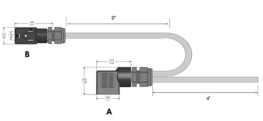 Din 43650 Form B Connector