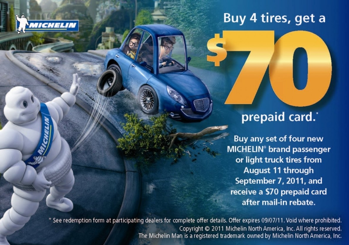 Discount Tire Rebate Form Michelin