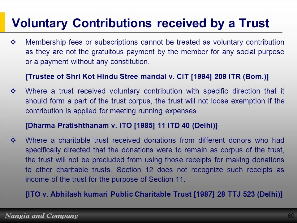 Discretionary Trust Itr Form