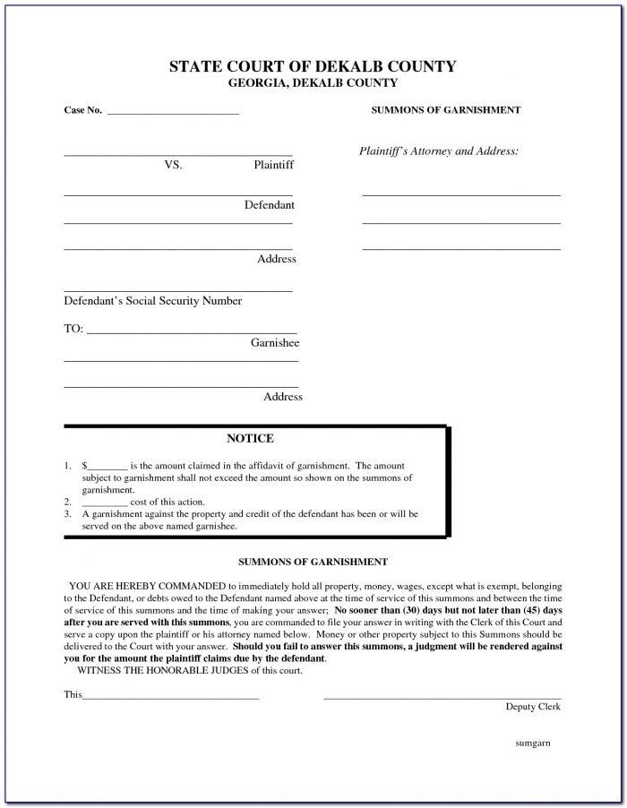 Divorce Forms Fulton County Ga