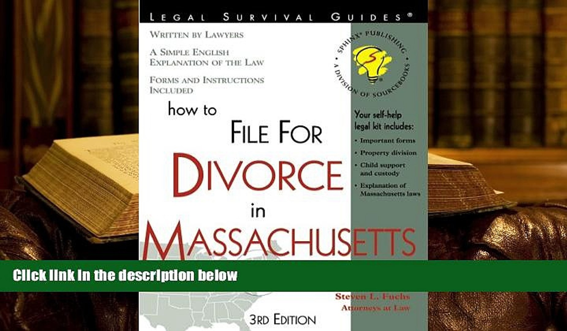 Divorce Forms Massachusetts Free