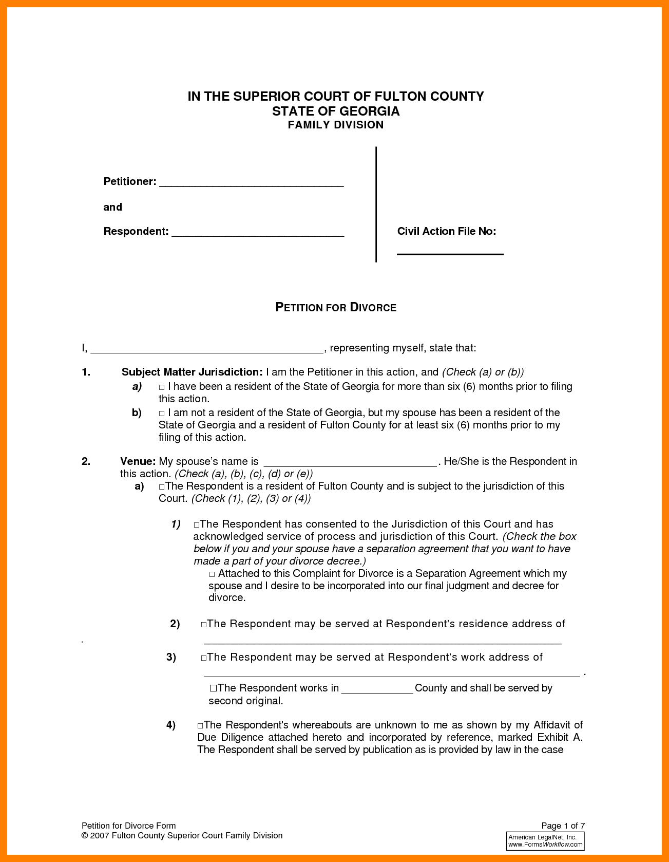 Divorce Forms Oklahoma County