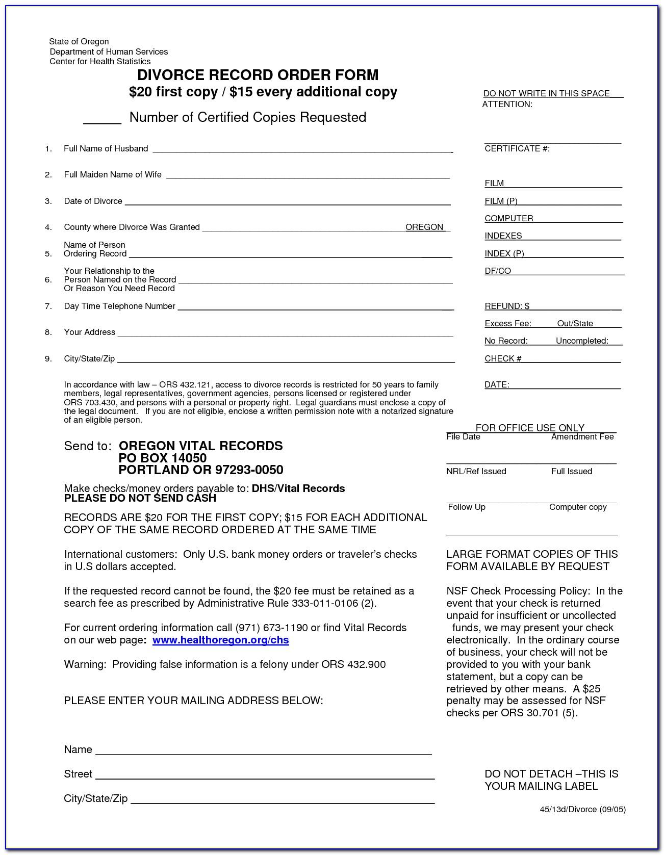 Divorce Forms Stark County Ohio