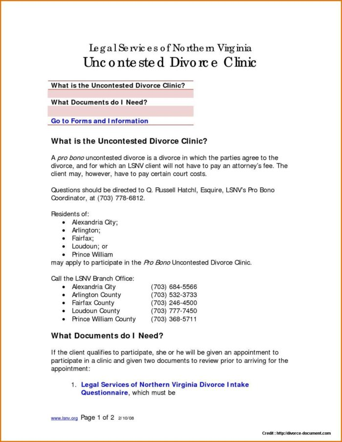 Divorce Ontario Forms Uncontested