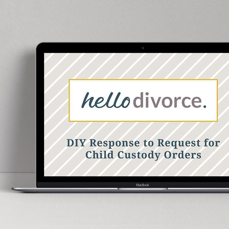 Diy Divorce Paperwork