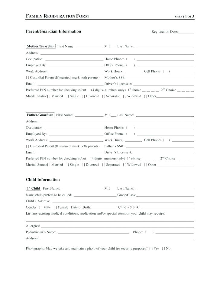 Dog Daycare Registration Form