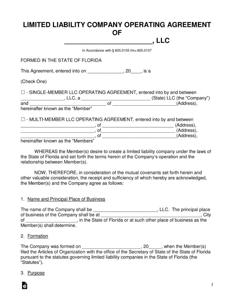Domestic Partner Affidavit Form Florida