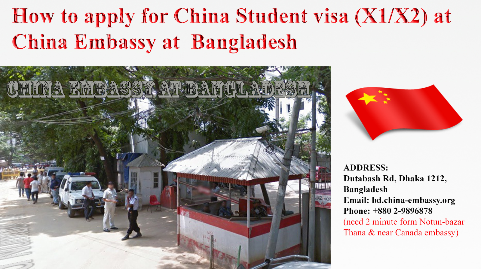 Download China Visa Application Form For Bangladeshi