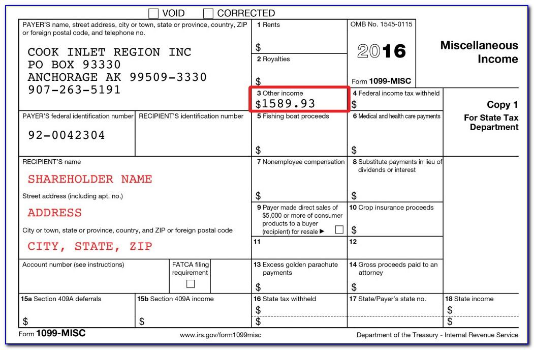 Download Form 1099 Misc