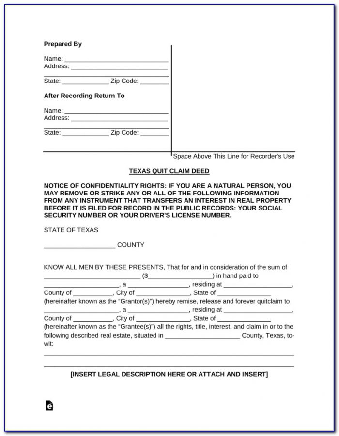 Dupage County Illinois Quit Claim Deed Form