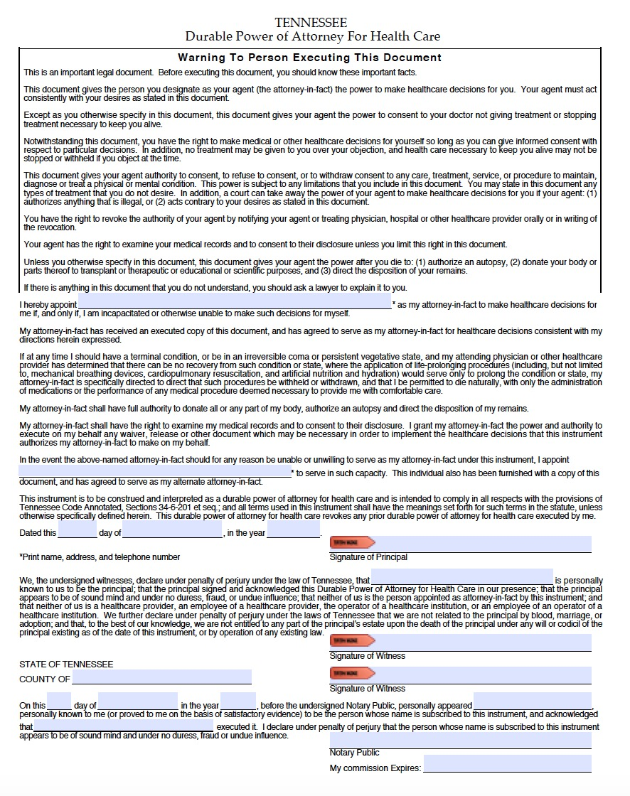 Durable Financial Power Of Attorney Form Wisconsin