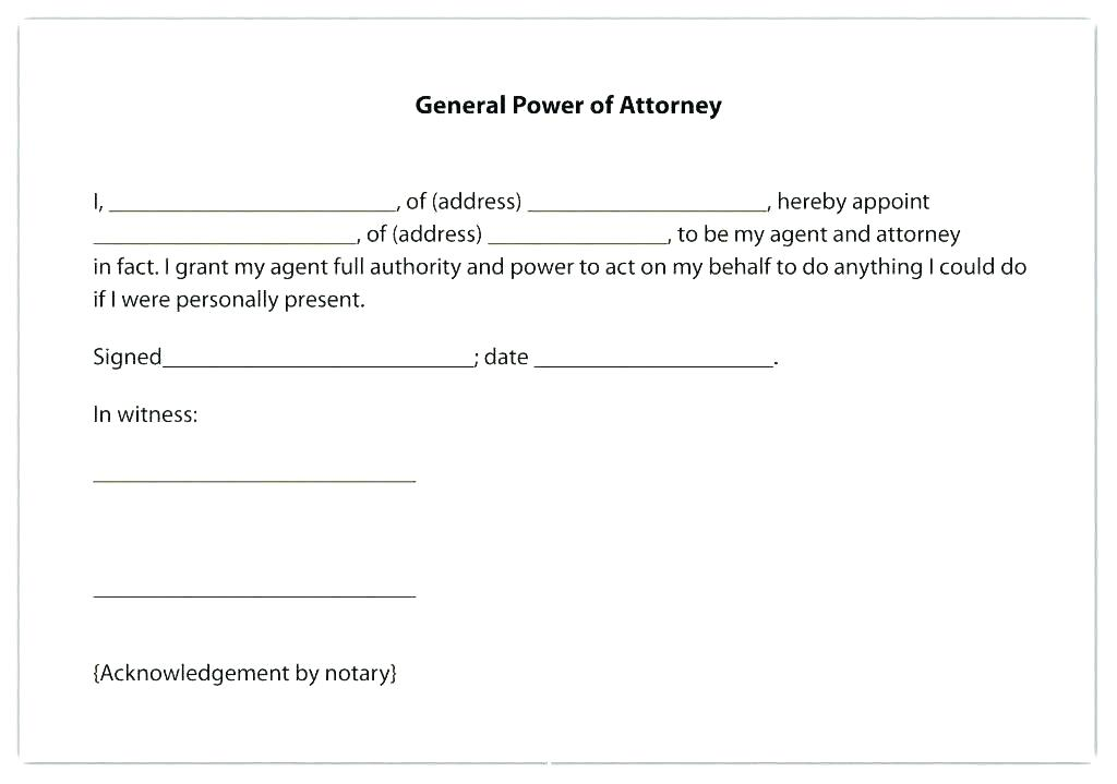 Durable Medical Power Of Attorney Form Virginia