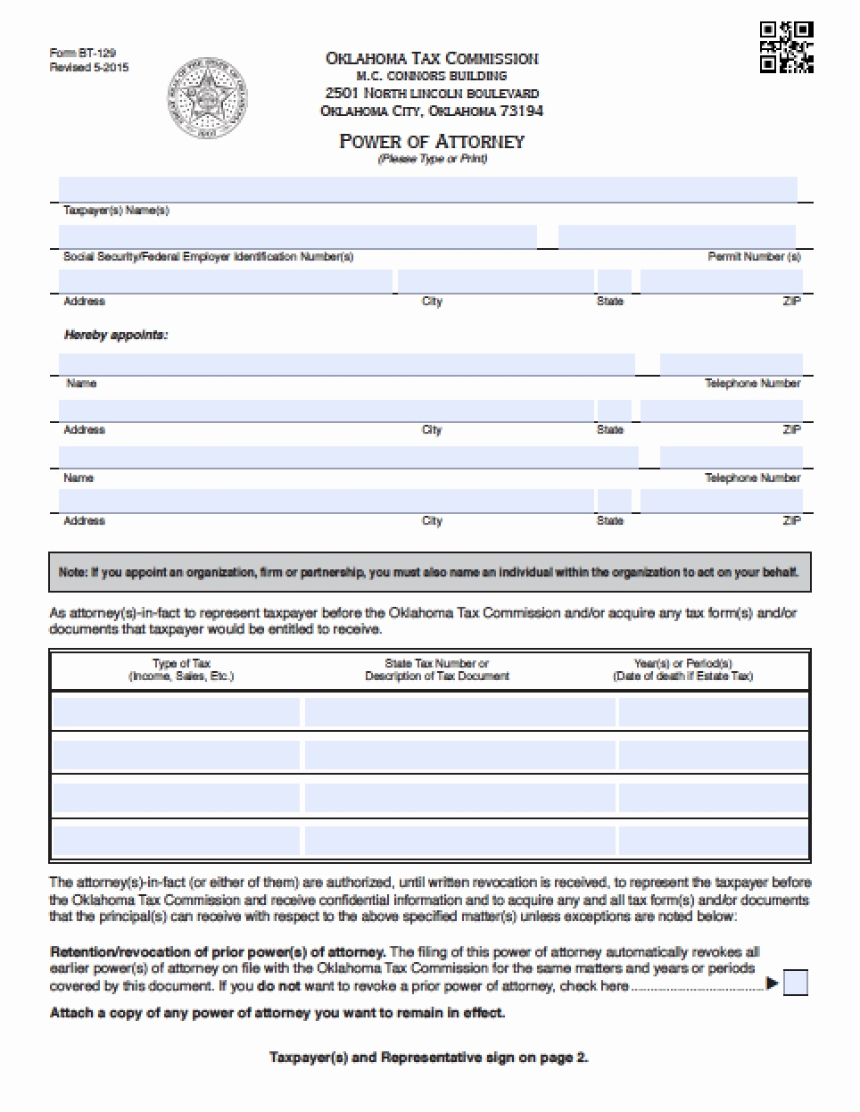 Durable Power Of Attorney Form Oklahoma Awesome Forms Free Printable Revocation Power Attorney Form Gallery Tax