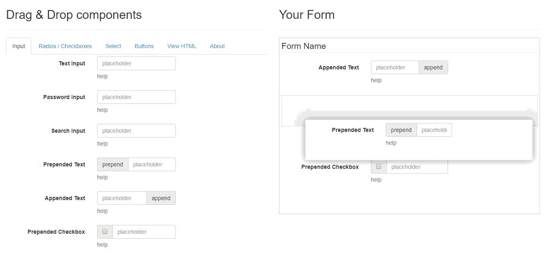 Dynamic Form Builder In Codeigniter