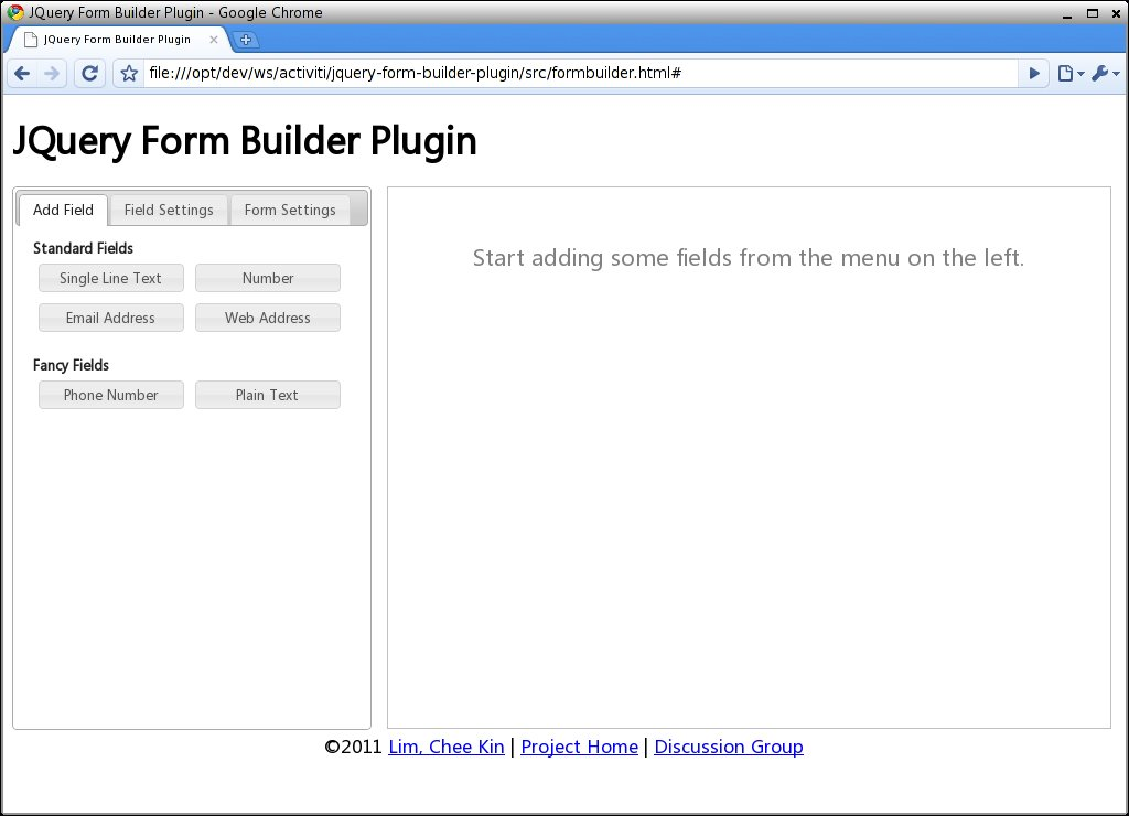 Dynamic Form Builder Jquery Plugin
