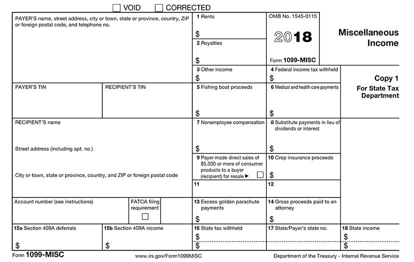 E File Tax Form 1099