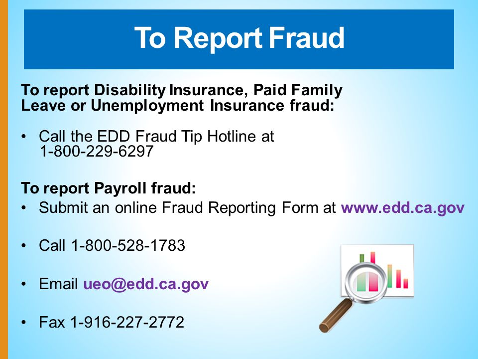 To Report Payroll Fraud: Submit An Online Fraud Reporting Form At Call Fax
