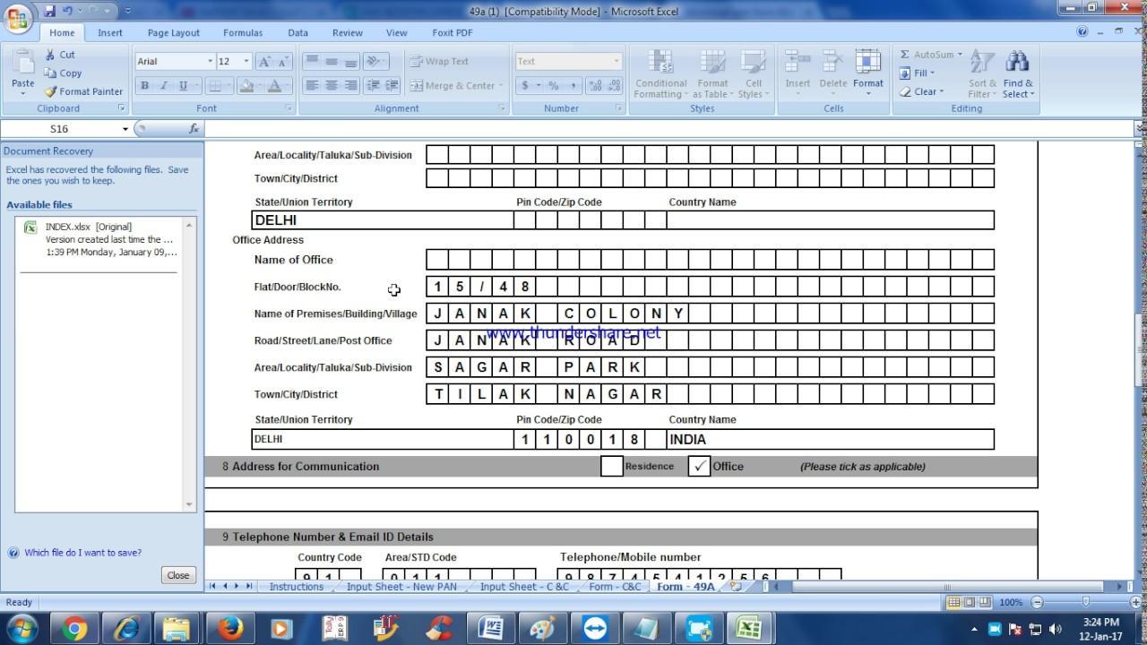 Editable Pdf Form 49b