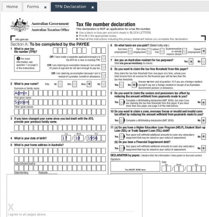 Ez File Tax Form