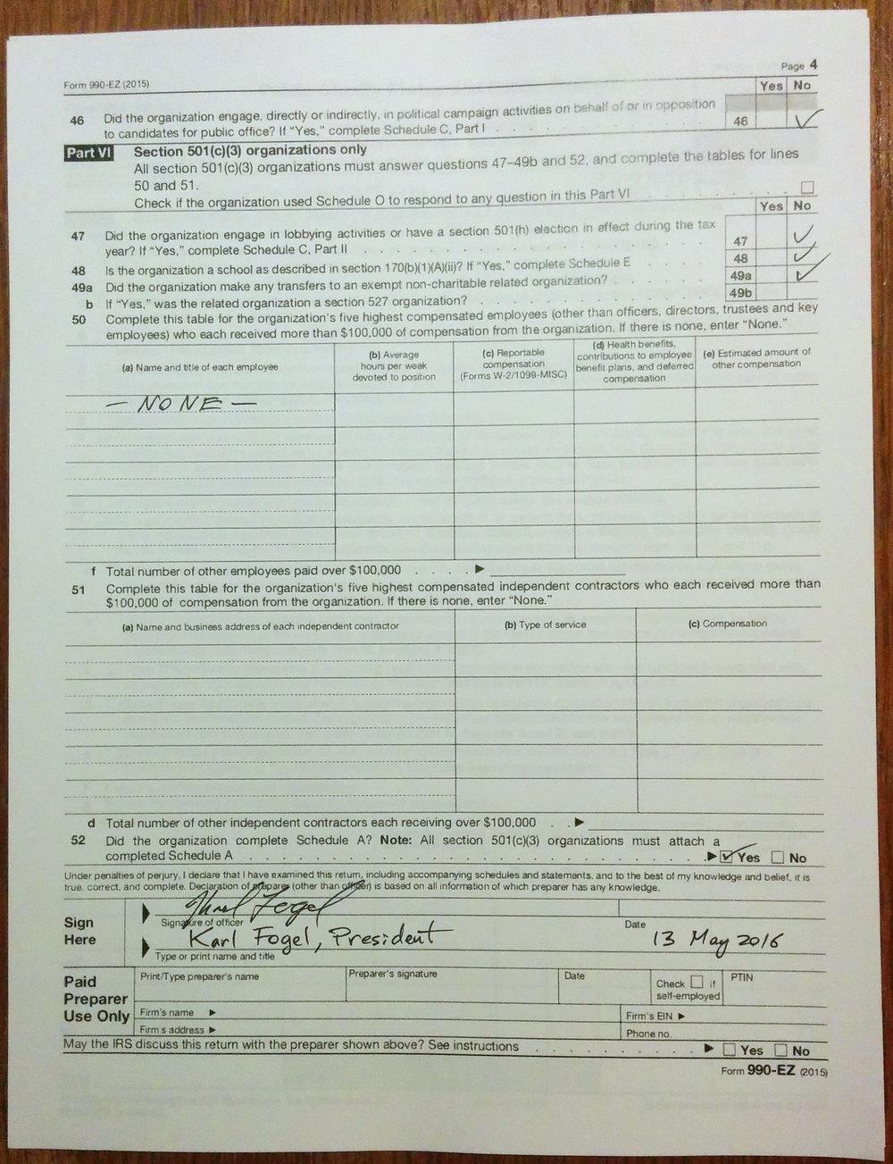 Ez Form Tax Calculator