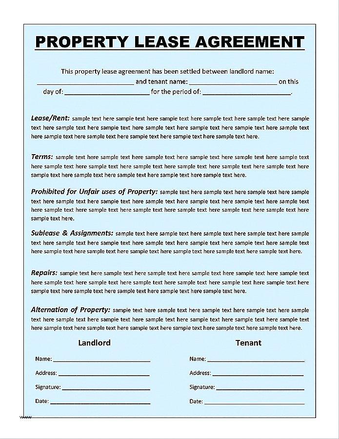 Farm Business Tenancy Agreement Forms
