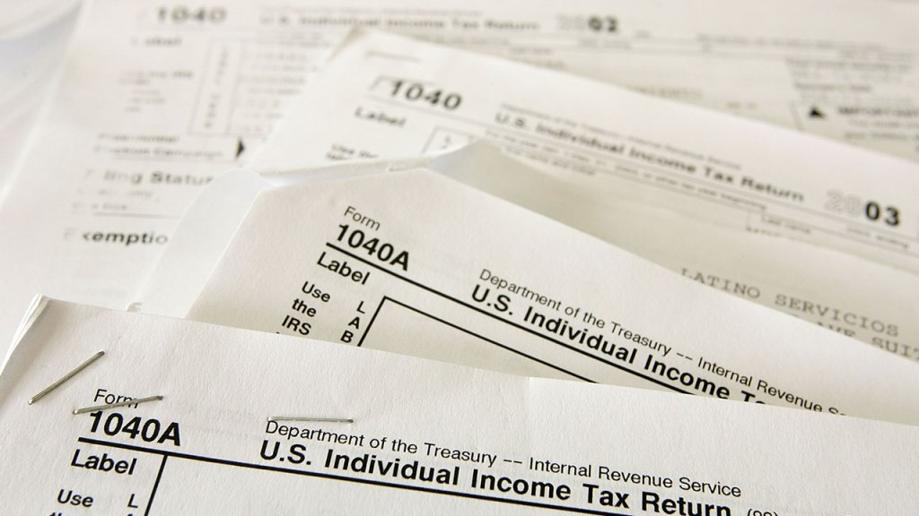 Federal Income Tax Form 1040a 2018