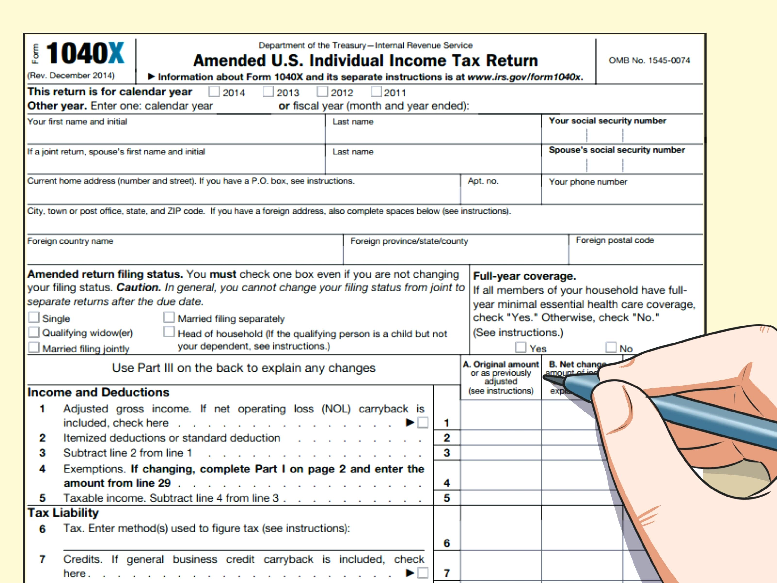 Federal Income Tax W 2 Form