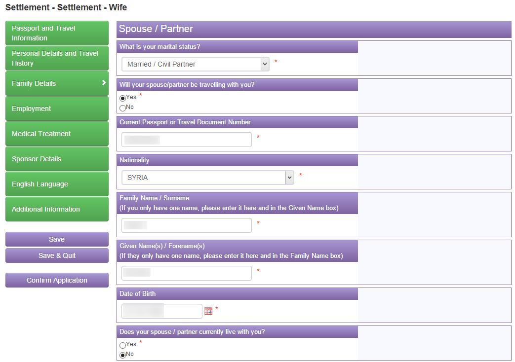 Fiance Visa Form Questions